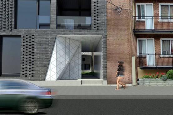 La Géode est un projet de condominiums neufs à Montréal. La Géode condos in Montreal.