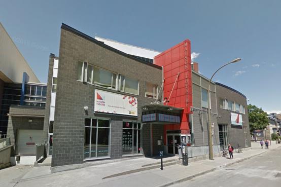 Salle de spectacle Maison Théâtre à Montréal. Montreal venue Maison Théâtre.